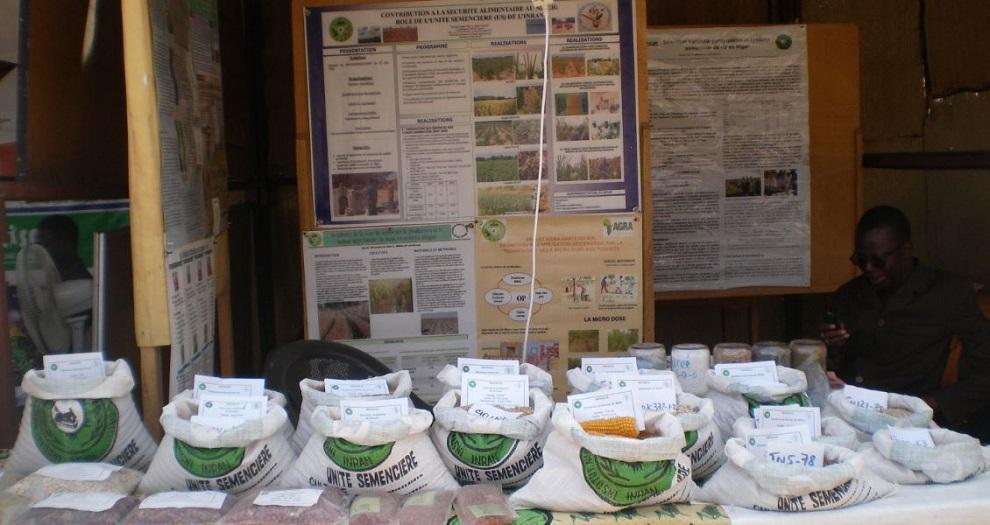 Exposition d'intrants agricoles
