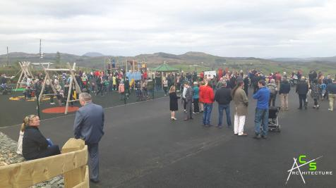 Opening of the Churchill Play Park