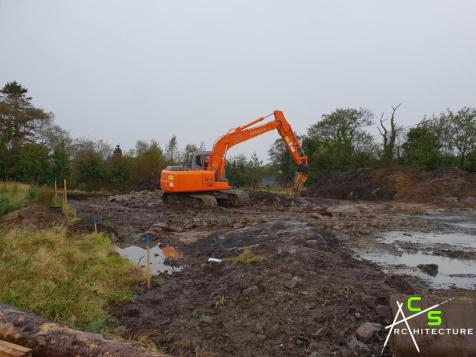 New site clearing in Glenties