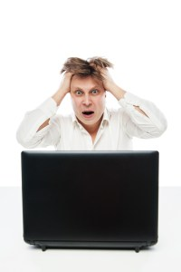 Stressed out employee ID 45532228 © Julenochek | Dreamstime.com