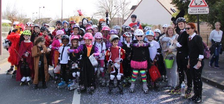 Retour en image sur la magique présence du CSB Roller Sport au carnaval de Brétigny-sur-Orge