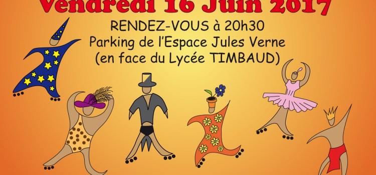 Rando Roller Excentrique vendredi 16 juin à Brétigny