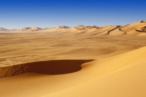 Sand Dunes at Sunset in the Sahara Desert, Libya - Source: Burdin, Denis. Sand Dunes at Sunset in the Sahara Desert, Libya.. Digital Image. Shutterstock, [Date Published Unknown]