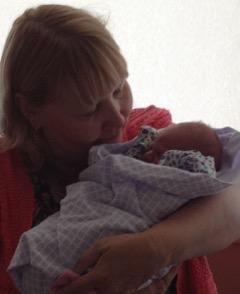 Grandma and Baby Boyll