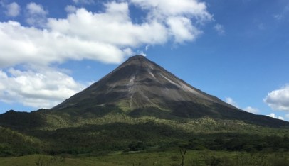 Active Volcano Arenal, Costa Rica, (photo by CAB)