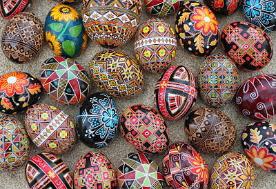 Ukrainian Eggs: Simple or Not!