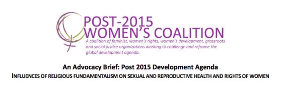 Post-2015Women'sCoalition-RF-SRHR