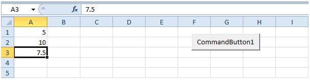 vba excel - application object