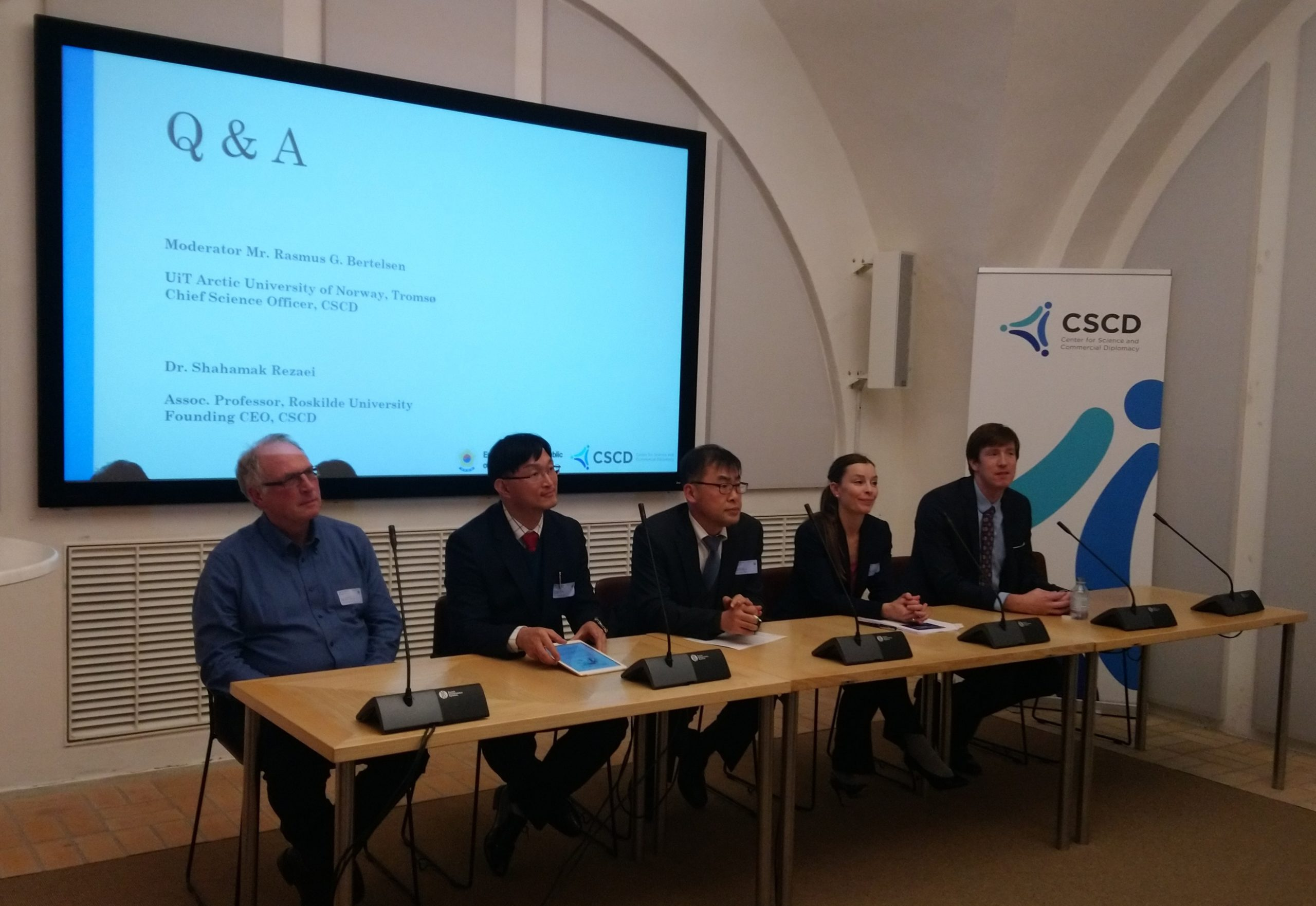 Joint Conference on Climate Change in the Arctic Region – Energy and Shipping in the Danish Parliament