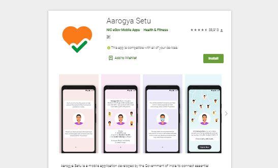 Aarogya Setu Mobile Apps