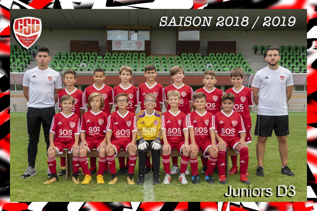 Juniors D3 - Club Sportif Chênois