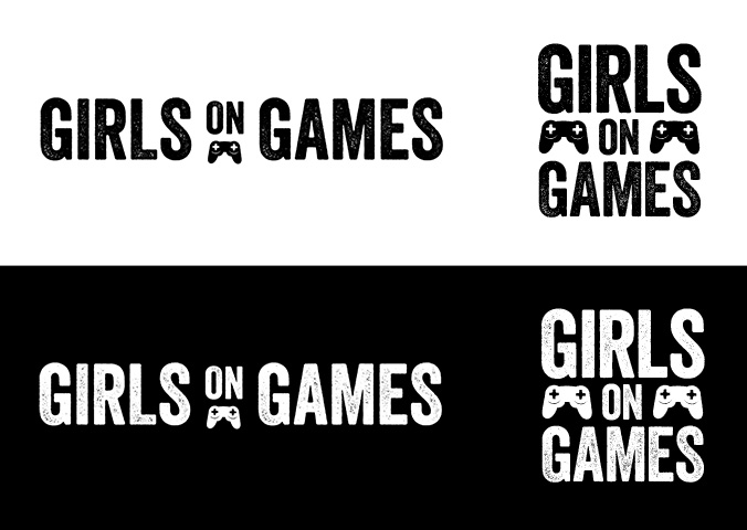 Girls on Games logo