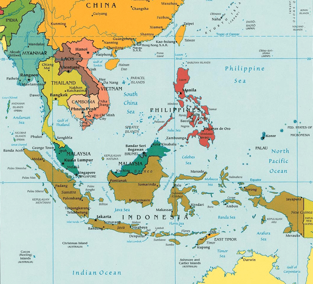 southeast asia pol 2003 big - Countries