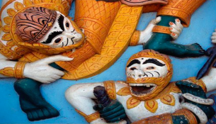 Take a look at the selection of books that share and tell old and new folktales from Laos.
