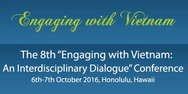 2016 Engaging w Vietnam Conf - 8th Engaging with Viet Nam Conference