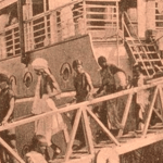 Arrival of Indian migrant coolies at Penang