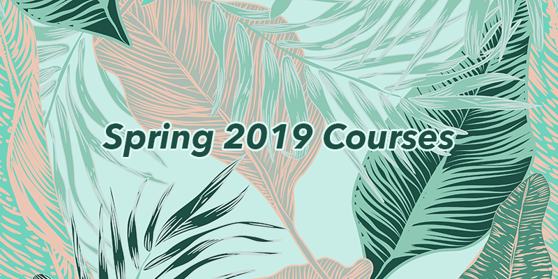 spring2019 courselist - Spring 2019 SEA Course List Now Available