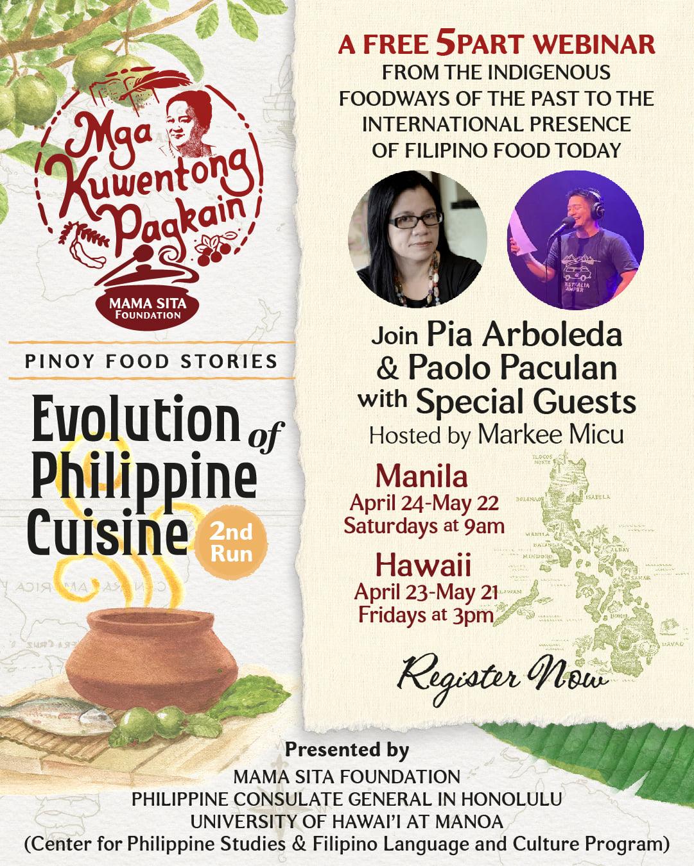 Evolution of Philippine Cuisine