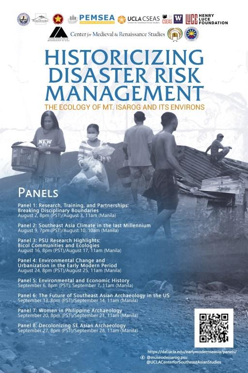 Historicizing Disaster Risk Management webinar series