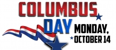 CSEMS Office Closed in Observance of Columbus Day - Monday, Oct. 14, 2019