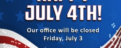 CSEMS Office Closed on Friday, July 3rd in Observance of July 4th