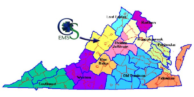 EMS Regions and Councils