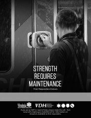 Strength Requires Maintenance - VDH Make the Call Flyer