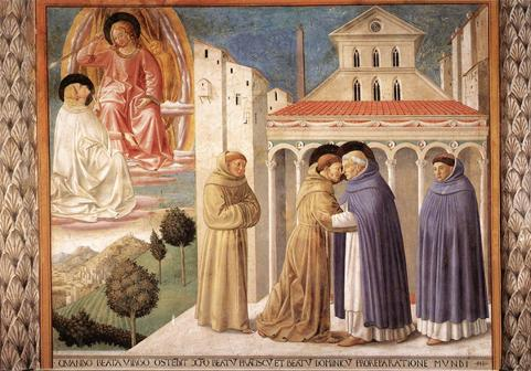 Meeting of Sts. Dominic and Francis