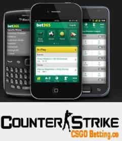 Mobile CS GO Betting Sites