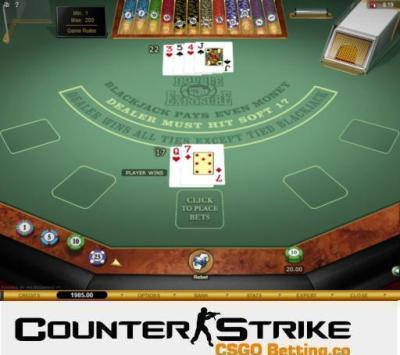 CS GO Double Exposure Blackjack Games
