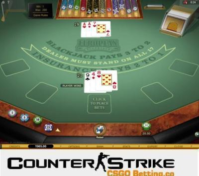 CS GO European Blackjack Games