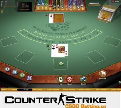 CS GO Super Fun 21 Blackjack Games