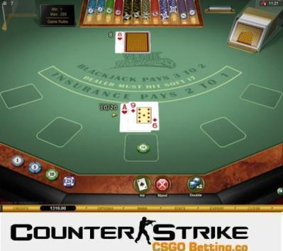 CS GO Vegas Downtown Blackjack Games