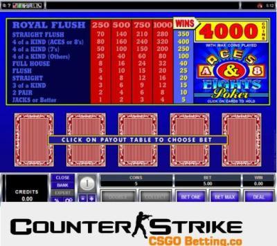 CS GO Video Poker