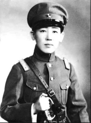 Eastern Pearl in a military uniform