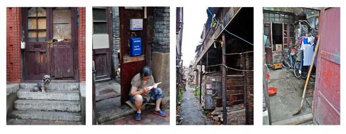 Scenes of the Japanese Concession, 2012 - once known as one of Tientsin's better places to live - photos by C.S. Hagen