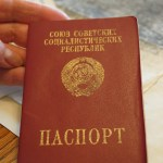 Marine's Soviet passport - photo by C.S. Hagen