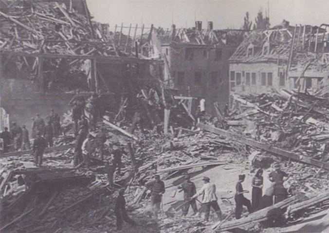 Heilbronn destruction