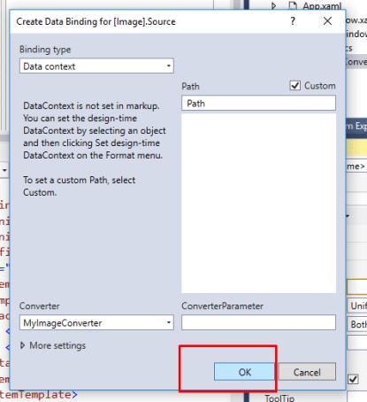 WPF Image TemplateBinding – C# Programming Example