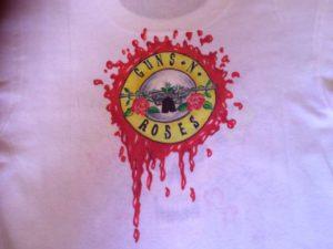 maglia lambro guns'n'roses