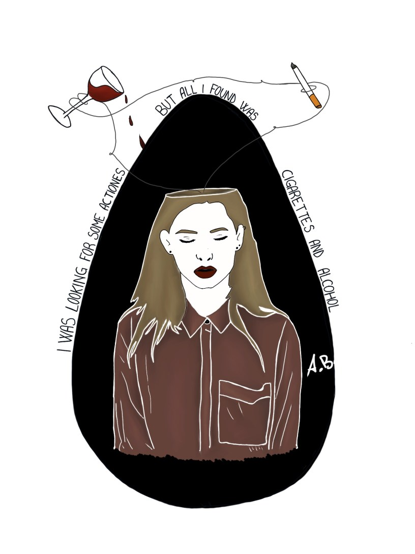 Illustrazione a tema Gallagher di Adele Bilotta