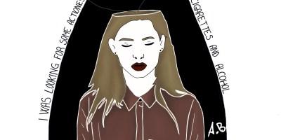 Illustrazione a tema Gallagher di Adele Bilotta