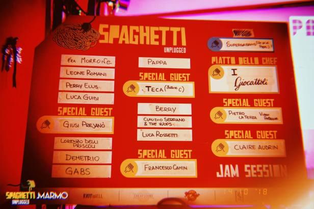 Spaghetti Unplugged