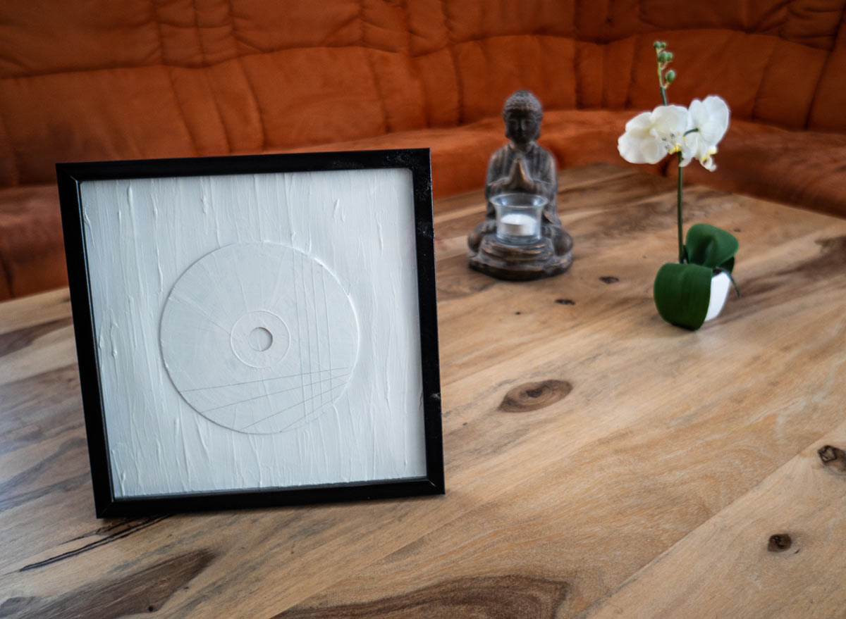 CD Kunst- CD mit Dekoration