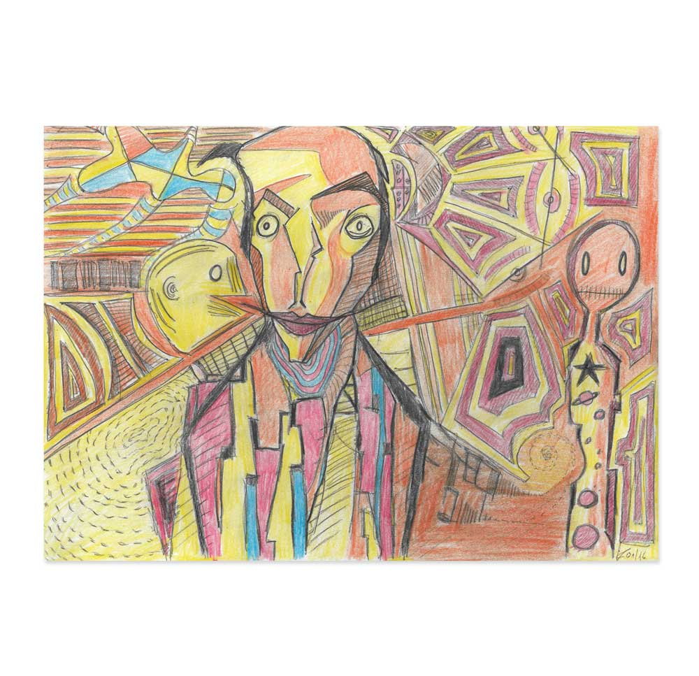 Portrait / bunt - Original Illustration