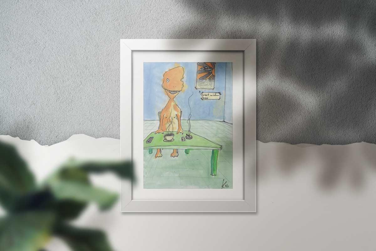 Solitude - Original Illustration