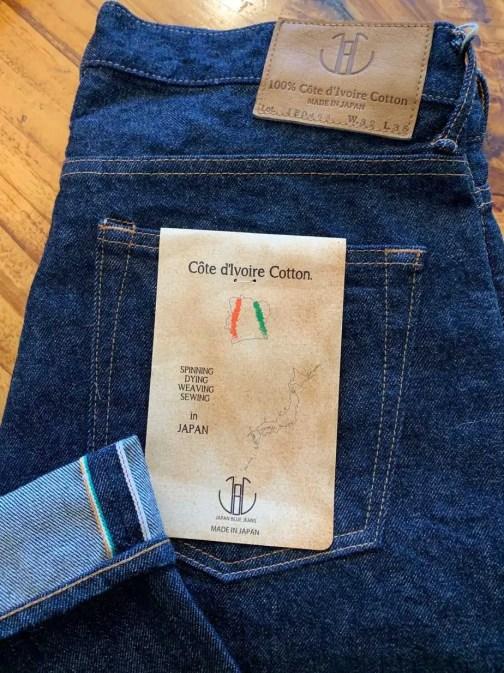 Japan Blue JB0463 13.5 Oz. Côte d'Ivoire Selvedge Jeans