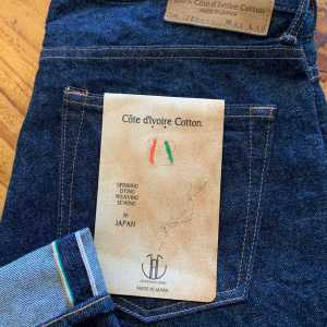 Japan Blue Jeans JB0463 13.5 Oz. Tapered Côte d'Ivoire Selvedge Jeans