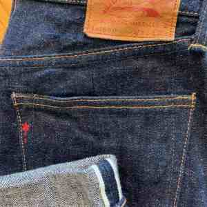 850-17 BURGUS PLUS RED CAST SELVEDGE INDIGO JEANS