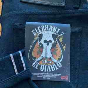 Naked & Famous Denim Elephant 7 Weird Guy 20 oz. Selvedge Jeans